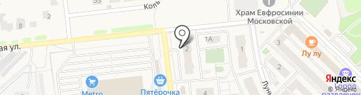 Твой Спутник на карте Засечного