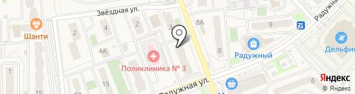 Спутник-авто 58 на карте Засечного