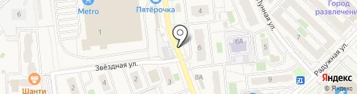 Шоколад.ru на карте Засечного