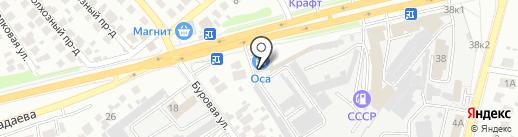 Д.А.С.-АВТО на карте Пензы