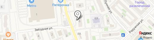 Малина Studio на карте Засечного