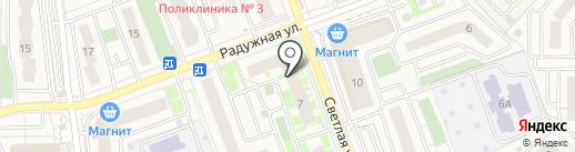 Пензенская лаборатория судебной экспертизы, АНО на карте Засечного