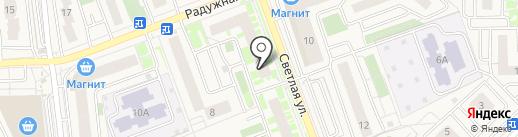 Крупяной Дом на карте Засечного