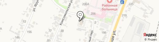 Бессоновский межрайонный следственный отдел на карте Бессоновки