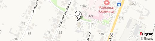 Уголовно-исполнительная инспекция Управления ФСИН России по Пензенской области, ФКУ на карте Бессоновки