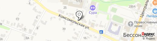 РосГосСтрах, ПАО на карте Бессоновки
