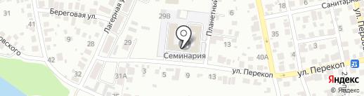 Пензенская православная духовная семинария на карте Пензы