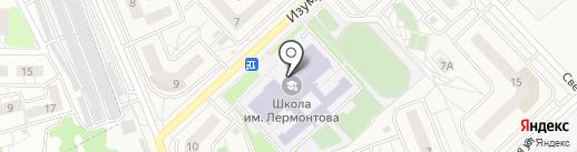 Средняя общеобразовательная школа Спутник, МБОУ на карте Засечного