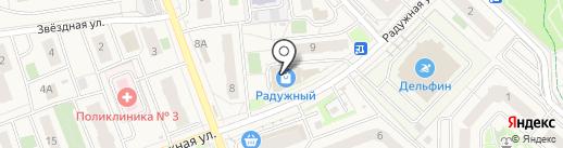 Фанфан Тюльпан на карте Засечного
