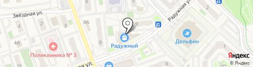 Пиро-Класс Пенза на карте Засечного