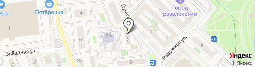 ПензаПрофСтройМонтаж на карте Засечного