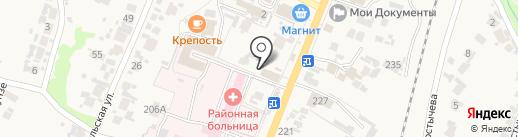 Оптика-Пенсне на карте Бессоновки