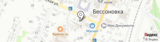 Наша газета-Бессоновские известия на карте Бессоновки