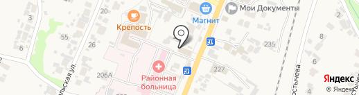 Фортуна на карте Бессоновки