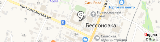 Детская школа искусств Бессоновского района на карте Бессоновки