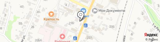 МегаФон на карте Бессоновки