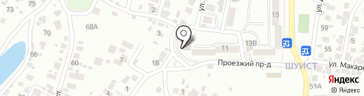 Строительно-монтажная компания на карте Пензы