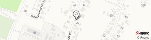 Продуктовый магазин на Нагорной на карте Бессоновки