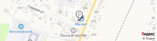 Многофункциональный центр предоставления государственных и муниципальных услуг на карте Бессоновки