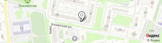 Аптечный пункт на карте Пензы