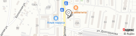 Маргаритка на карте Пензы