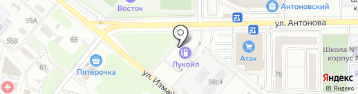 Банкомат, Банк ФК Открытие, ПАО на карте Пензы