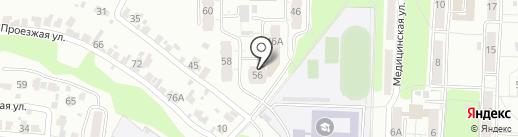 Надежда-7, ТСЖ на карте Пензы