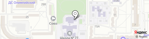 Участковый пункт полиции на карте Пензы