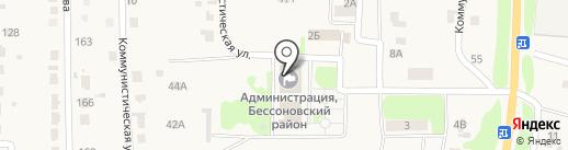Мировой судья Пучкова Л.Б. на карте Бессоновки