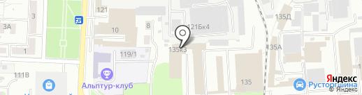 Автосервис на карте Пензы