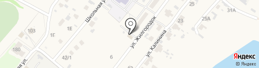 Любава на карте Бессоновки