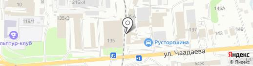 Столовая №1 на карте Пензы