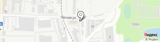 RU-TAG на карте Пензы