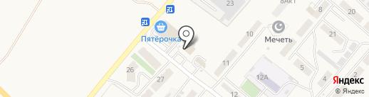 Нотариус Терехов Е.В. на карте Засечного