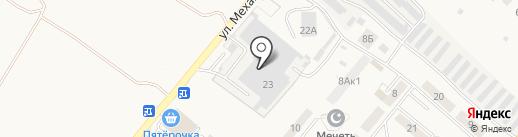 Банкомат, Банк ВТБ 24 на карте Засечного