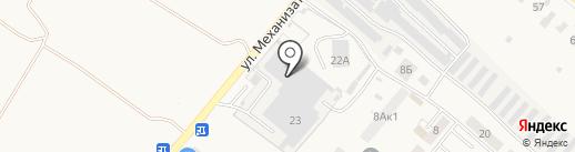 Банкомат, Банк ВТБ 24, ПАО на карте Засечного