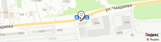 Drewpol Osina на карте Пензы