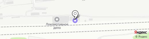 Путевая машинная станция №151 на карте Пензы