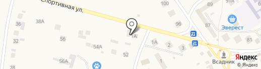 Нотариус Крымова Н.А. на карте Лямбиря