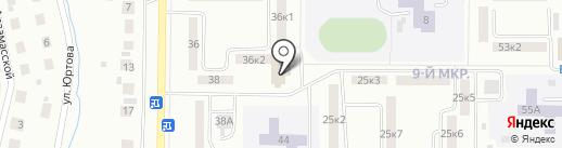 Библиотека №7 на карте Саранска
