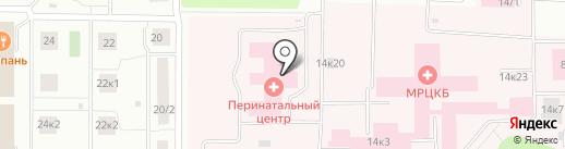 Мордовский республиканский клинический перинатальный центр на карте Саранска