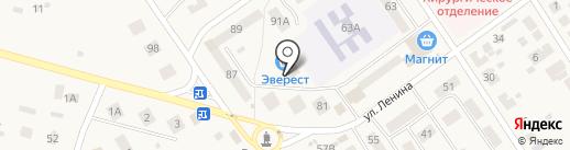 Сеть магазинов на карте Лямбиря