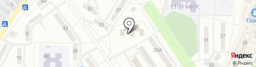 Пролетарская районная организация инвалидов на карте Саранска