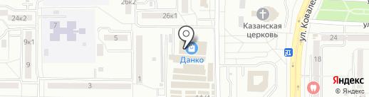 ATHLETIC food на карте Саранска