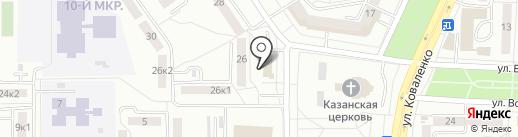 Банкомат, АККСБ КС Банк на карте Саранска