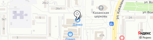 Ермолино на карте Саранска
