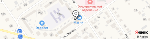 Банкомат, Россельхозбанк на карте Лямбиря