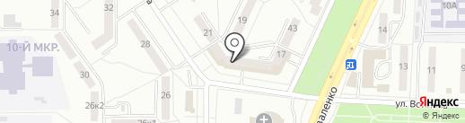 Сервис Мед на карте Саранска