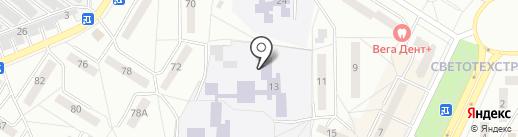Автошкола на карте Саранска