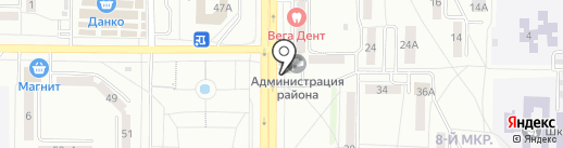 Администрация Пролетарского района на карте Саранска